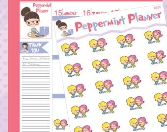 Date planner stickers #385