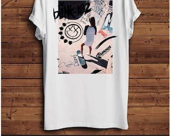 Blink 182 Front & Back T Shirt