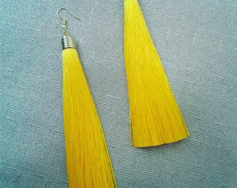 Party Girl Tassel Earrings