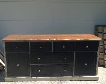 Hand Built Solid Wood Dresser/Entertainment Console
