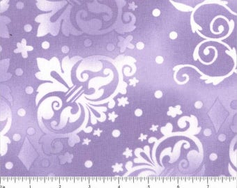 "108"" Quilt Backing Purple on Purple"