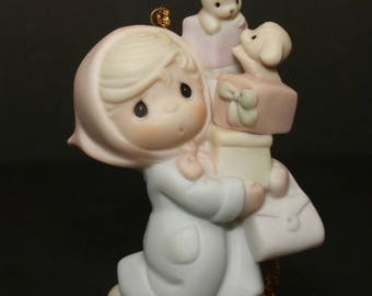 "Precious Moments Christmas Ornament ""Bundles Of Joy"" - LIMITED EDITION -"