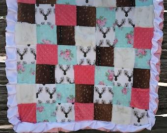 Custom Crib Quilt Set