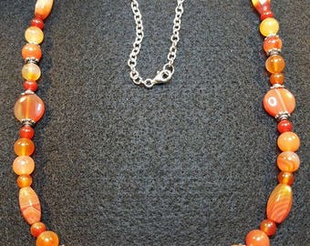 Fancy Carnelian necklace