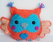 Owl Kawaii Cuddler™ Crochet Pattern