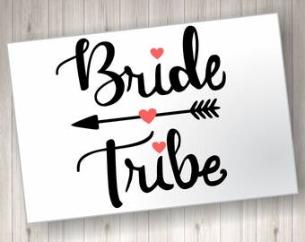Bride Tribe SVG File
