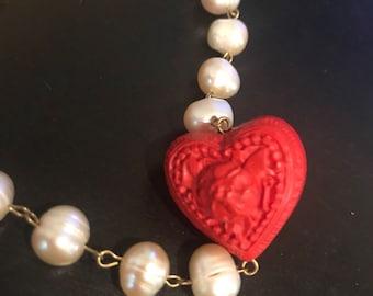 Beautiful heart necklace