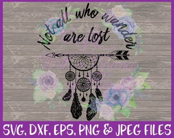 Tribal SVG, Dream Catcher SVG, Arrow SVG, Inspirational Svg, Boho Svg, Bohemian Svg, American Indian Svg, Dxf Eps Png Jpg Digital Download