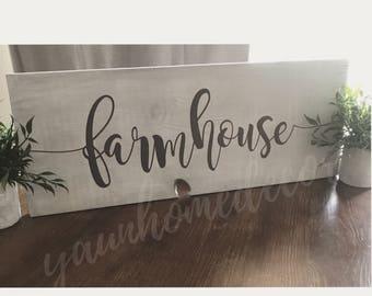 Farmhouse kitchen style sign