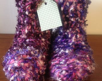 Wooly Snug Slipper Boots