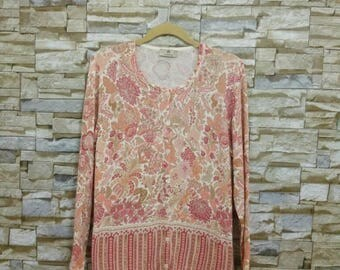 Vintage AIGNER Shirt Aigner Cardigan Made in Italy