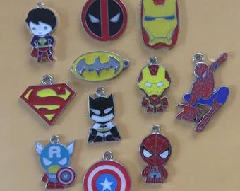 Superhero Charms