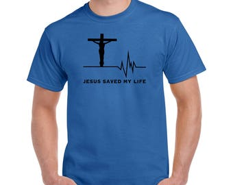 Jesus saved my life T shirt, Saved by graced T shirt, Grace shirt, He saved me, Sinner saved by grace shirt