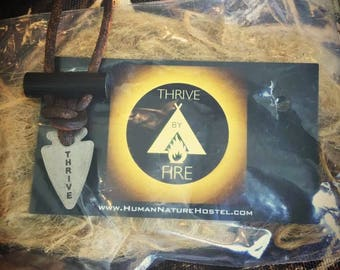 Thrive by Fire-Starting Necklace