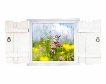 045 wall sticker Butterfly in the window