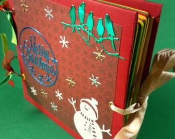 Christmas photo album for gift