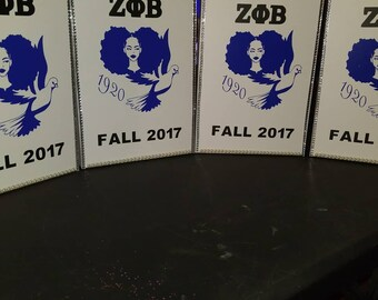 Zeta Phi Beta (Set of 4)
