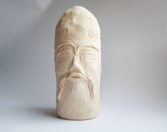 Kumir (Idol, Chur) - Ceramic Ocarina - Vintage Clay Flute