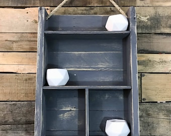 Reclaimed Wood Shelf / Floating Shelf / Wood Shelf / Industrial Shelf / Rustic Shelf / Rustic Wall Shelf / Rustic Storage