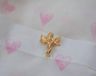 Valentine Cupid Pin,Brooch