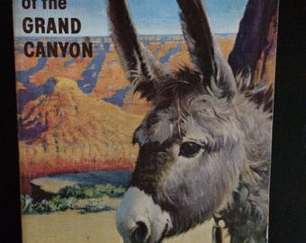 1980 9th Edition Brighty of the Grand Canyon by Marguerite Henry