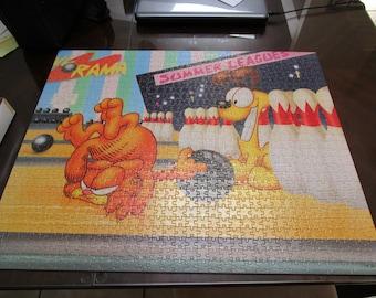 Vintage Garfield 1000 Piece Puzzle / United Feature Syndicate Inc / 1978 Jim Davis