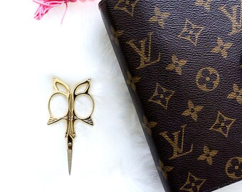 Butterfly Gold Scissors, craft scissors, gold scissors, planner scissors, embroidery scissors, scissors, planner accessories