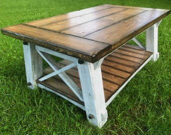 x-style country coffee table x coffee table country coffee