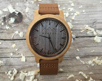 Gents Wooden Watch by S O N D E R - Classic Wooden Watches, Coffee Gents Wooden Watch, Authentic Wood watches, Watches for men.