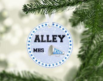 Cheer Call Blue Ornament