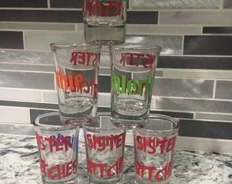 Yeti Shot Glass Etsy - Vinyl decals for shot glasses