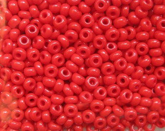 10 g seed bead round opaque Czech 2.5 mm