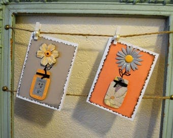 Variety pack of cards, Mason jars, Floral cards, Blank cards, All Occasion cards, Handmade cards