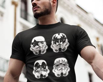 Star Wars Stormtropper KISS t-shirt