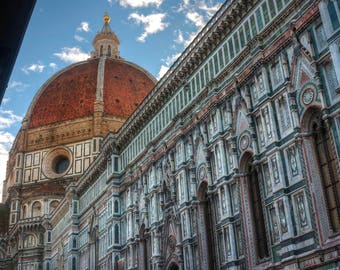 Florence Duomo II - Art - Artistic - Florence - Architecture - Photo - Photography - Tuscany - Duomo - Cathedral