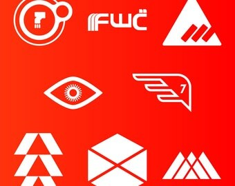 Destiny Game Decals Stickers (8 Options!) Hunter, Titan, Warlock Dead Orbit, Future War Cult, New Monarchy, Osiris, Seven Seraphs, Destiny 2