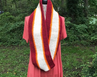 Autumn Theme Adult Inifinty Scarf