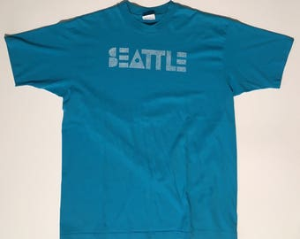 90s Vintage Seattle souvenir shirt XL