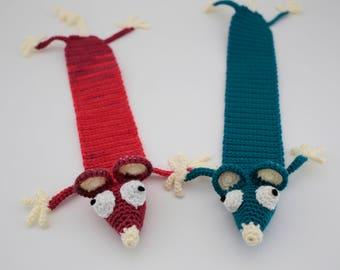 Rat Bookmark, Mouse Bookmark