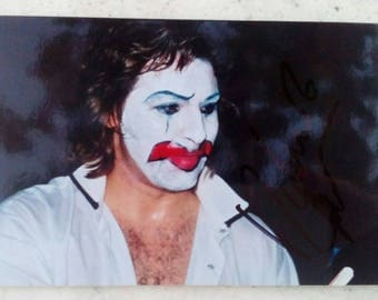 A Signed Photograph of Roberto Alagna as Pagliacci