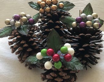 Beautifully HandCrafted Christmas Ornaments.