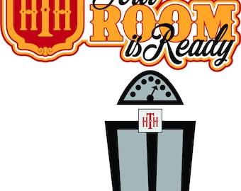Disney Tower of Terror SVG File: Your Room Is Ready, elevator, Hollywood Studios, vacation, Disney World, Disneyland, Shirt, Scrapbook