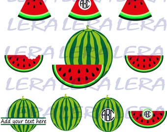 60 % OFF, Watermelon SVG, Monogram Watermelons SVG Frames, png, eps, dxf, Watermelon Svg Cut Files, Watermelons Split Monogram Svg