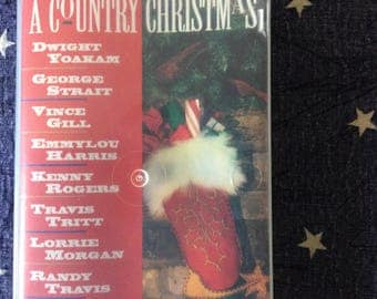 1994 A Country Christmas Cassette Tape by Various Artists