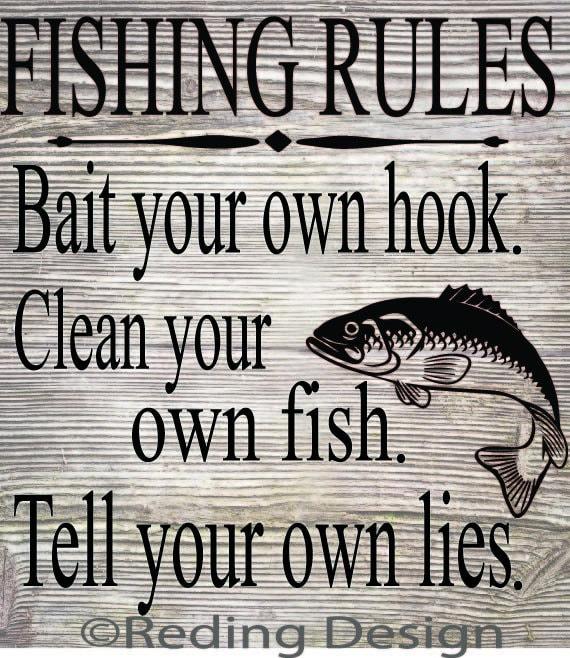 Fishing rules svg dxfdigital cut files for Illinois fishing regulations