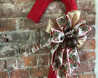 Rustic Candy Cane