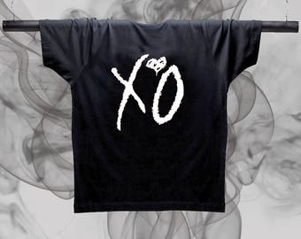 XO white unisex shirt  - Starboy The Weeknd Unisex shitr Graphic shirt Kanye West shirt