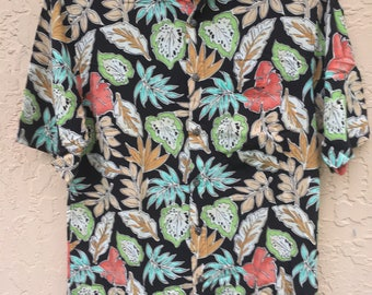 SMALL Tropical Button Ups