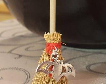 Altar Broom/Mini Witch Broom/Bat