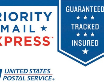 USPS EXPRESS-Next Day Shipping.